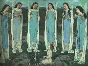 Ferdinand Hodler The Chosen One oil painting