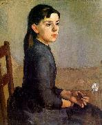 Ferdinand Hodler Portrait of Louise-Delphine Duchosal oil painting