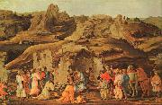 Filippino Lippi The Adoration of the Kings oil painting reproduction