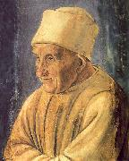 Filippino Lippi Portrait of an Old Man oil painting