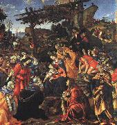 Filippino Lippi The Adoration of the Magi oil painting reproduction
