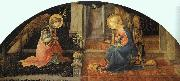 Fra Filippo Lippi Annunciation  ff USA oil painting reproduction