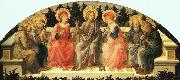 Fra Filippo Lippi Seven Saints USA oil painting reproduction