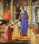 Fra Filippo Lippi Annunciation  aaa USA oil painting reproduction