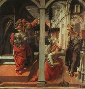 Fra Filippo Lippi The Annunciation USA oil painting reproduction