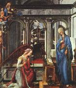 Fra Filippo Lippi The Annunciation   ttt USA oil painting reproduction