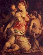 Charity, Francesco Salviati