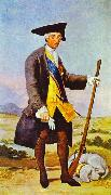 Charles III in Hunting Costume, Francisco Jose de Goya