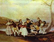 Blind's Man Bluff, Francisco Jose de Goya