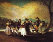Blind Man's Buff, Francisco Jose de Goya