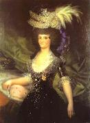 Queen Maria Luisa, Francisco Jose de Goya