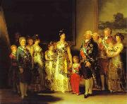 Charles IV and His Family, Francisco Jose de Goya