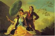 Francisco Jose de Goya The Parasol. oil painting artist