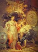 Allegory of the City of Madrid., Francisco Jose de Goya