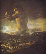 The Colossus., Francisco Jose de Goya