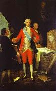 Francisco de Goya the Count of Floridablanca and Goya.