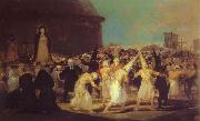 A Procession of Flagellants, Francisco Jose de Goya