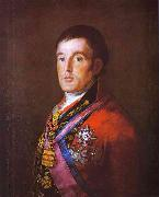 Portrait of the Duke of Wellington., Francisco Jose de Goya