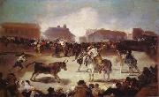 A Village Bullfight, Francisco Jose de Goya