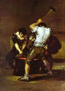 La fragna (Smithy)., Francisco Jose de Goya