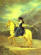 Equestrian Portrait of Dona Maria Teresa Vallabriga, Francisco Jose de Goya
