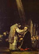 Last Communion of Saint Jose de Calasanz., Francisco Jose de Goya