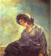 The Milkmaid of Bordeaux., Francisco Jose de Goya