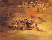 Scene of Bullfight, Francisco Jose de Goya