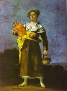 Girl with a Jug, Francisco Jose de Goya