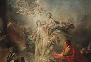 Francois Boucher Pygmalion and Galatea oil painting reproduction