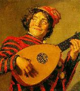Jester with a Lute, Frans Hals