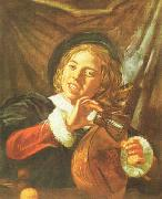 Boy with a Lute, Frans Hals
