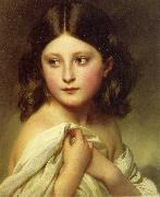 A Young Girl called Princess Charlotte, Franz Xaver Winterhalter