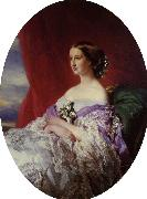 Franz Xaver Winterhalter The Empress Eugenie oil painting reproduction