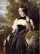 A Swiss Girl from Interlaken, Franz Xaver Winterhalter