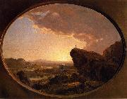 Frederic Edwin Church Moses Viewing Promised Land oil painting artist