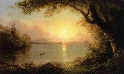 Frederic Edwin Church Lake Scene