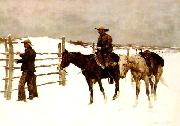 The Fall of the Cowboy, Frederick Remington