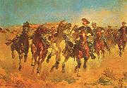 Dismounted, Frederick Remington