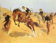 Turn Him Loose, Bill, Frederick Remington