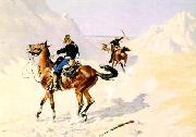 The Advance Guard, Frederick Remington