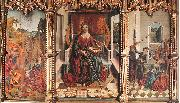 Triptych of St Catherine  dfg