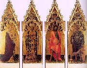 Four Saints of the Poliptych Quaratesi dg