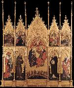 Coronation of the Virgin and Saints dfhh