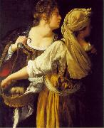 Judith and her Maidservant  sdg