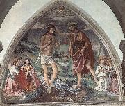 Baptism of Christ dfg, GHIRLANDAIO, Domenico