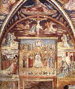 Madonna and Child Surrounded by Saints sd, GOZZOLI, Benozzo