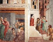 Scenes from the Life of St Francis (Scene 1, north wall) g, GOZZOLI, Benozzo