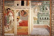 Scenes from the Life of St Francis (Scene 2, north wall) cd, GOZZOLI, Benozzo
