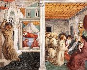 Scenes from the Life of St Francis (Scene 5, north wall) g, GOZZOLI, Benozzo
